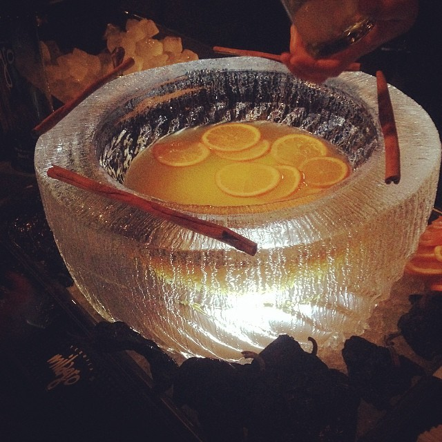 Milagro Ancho Ice Bowl Margarita SACC Opening Party
