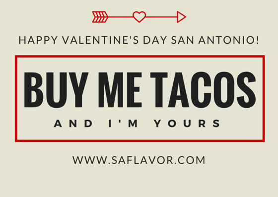 Happy Valentine's Day San Antonio!