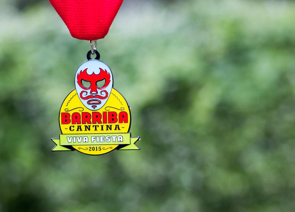 Barriba Cantina 2015 Fiesta Medal