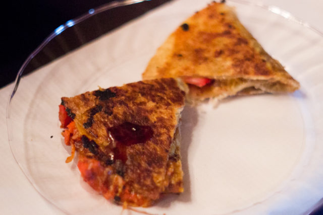 Bombay Salsa Tandoori Chicken Quesadilla Break Fast Launch Dinner Day