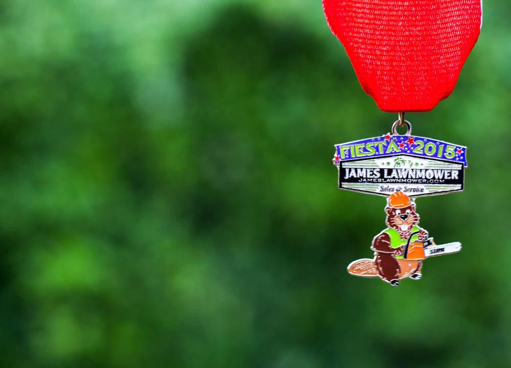 James Lawnmower 2015 Fiesta Medal