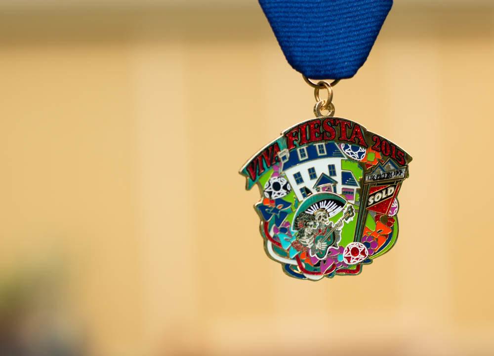 Realtor Liz Petroff 2015 Fiesta Medal