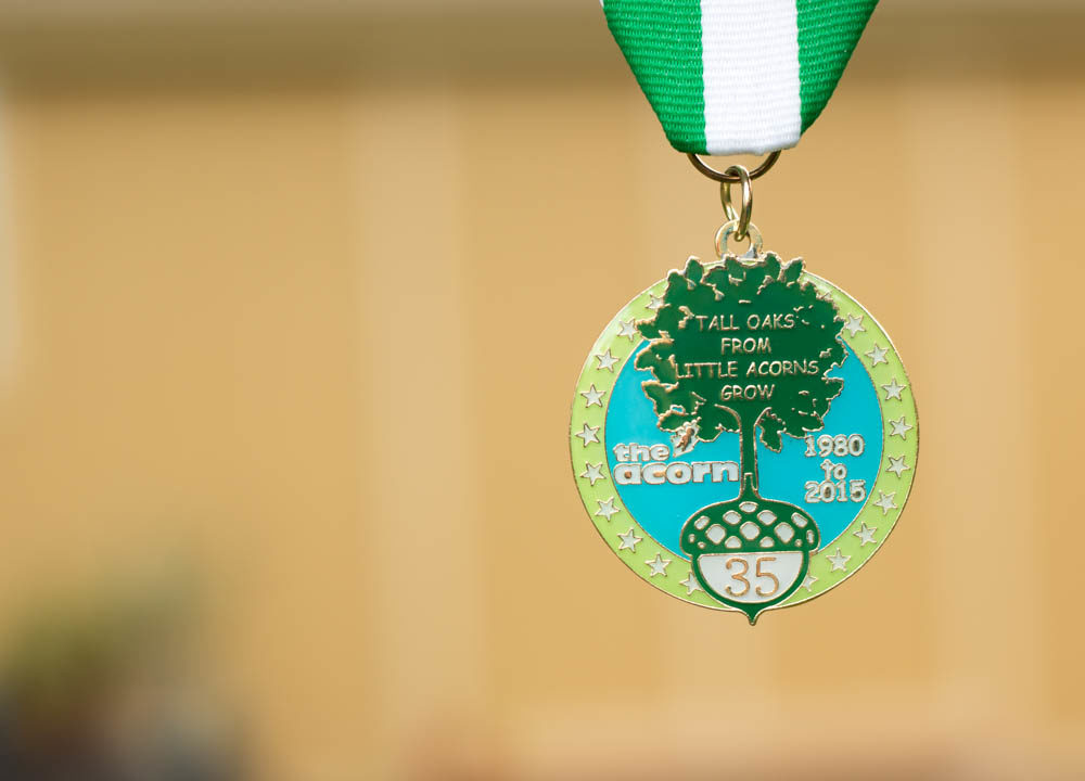 The Acorn School 2015 Fiesta Medal