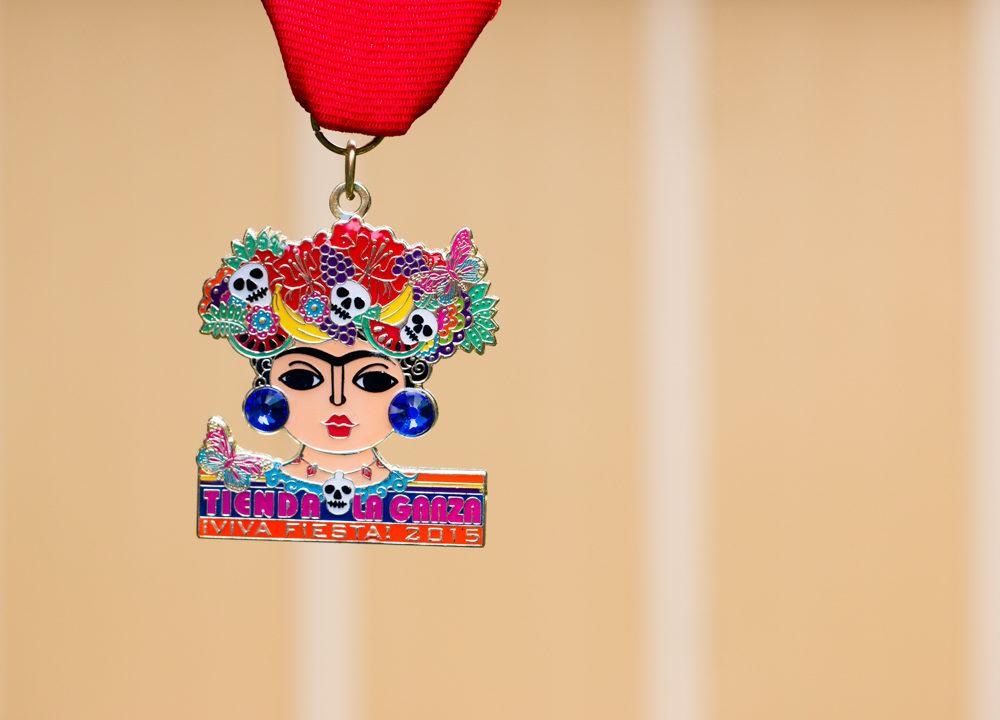 Tienda la Garza 2015 Fiesta Medal