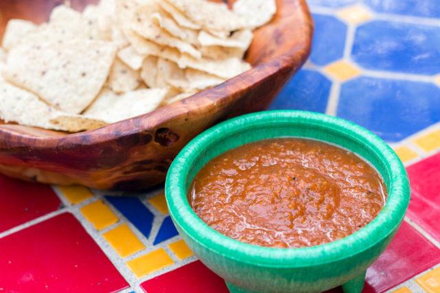 Dom's Chop Salsa Hot