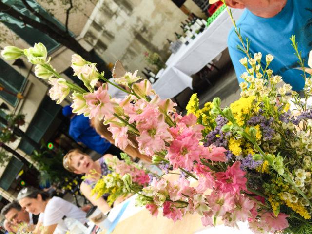 Flowers at Houston Street Eats Picnic-3