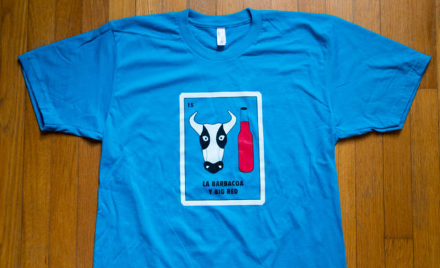 Mens Barbacoa SA Flavor Shirt American Apparel-2