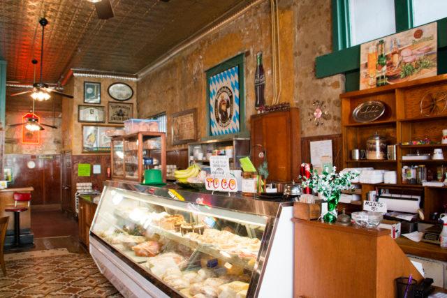 The deli counter at Schilo's.