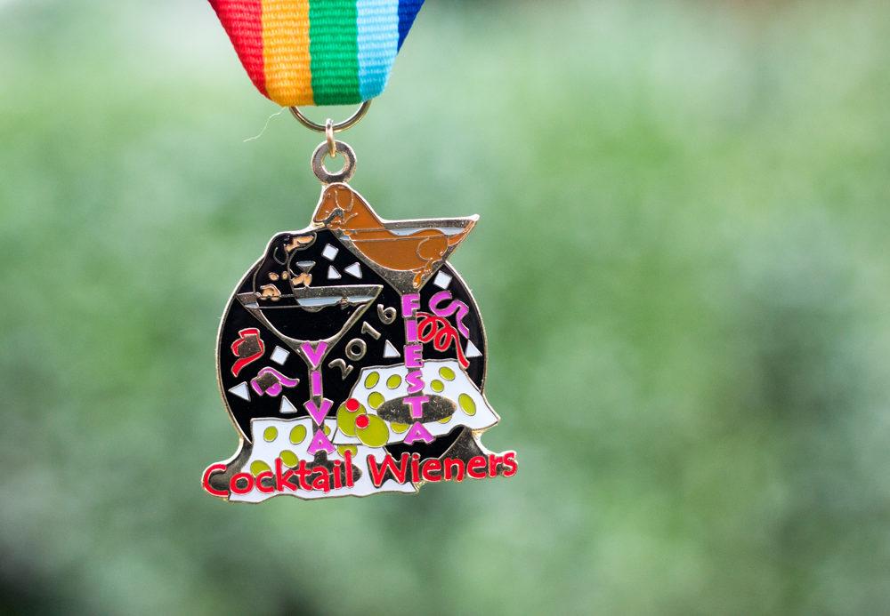 2016 Joni Drought Cocktail Wieners Fiesta Medal