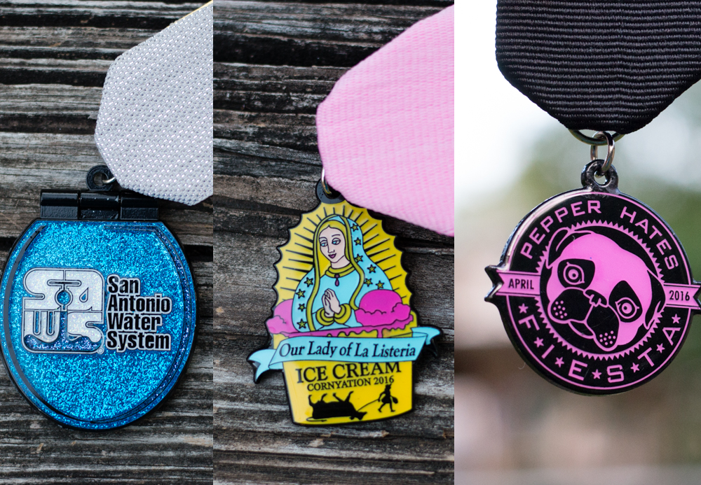 2016 Fiesta Medal Favorites: Kitschy Medals
