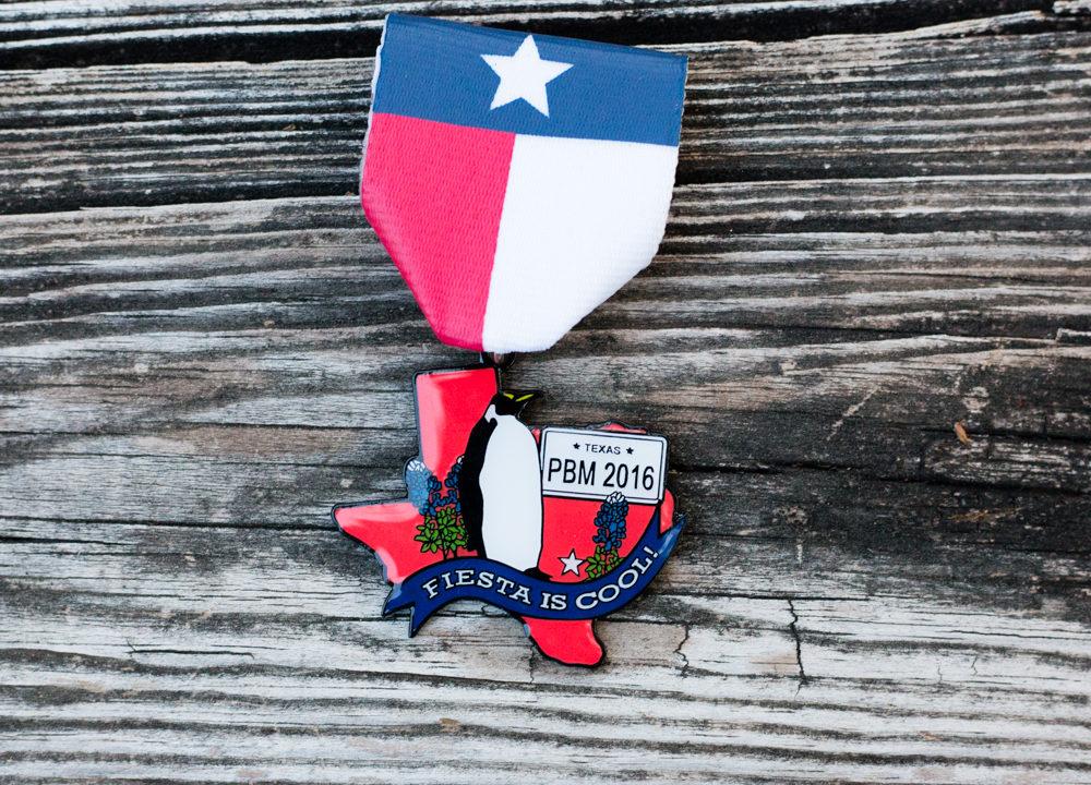 2016 Preston Mewhinney Memorial Fiesta Medal