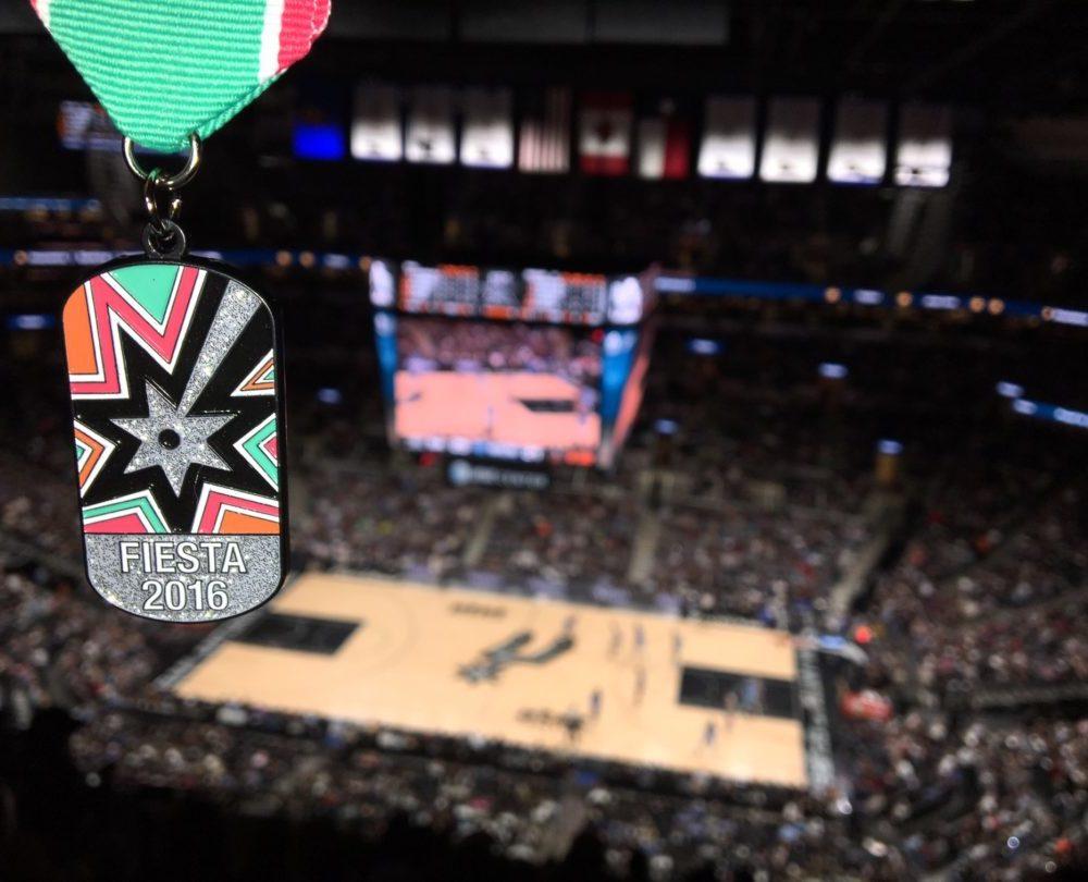 2016 Spurs Fiesta Medal