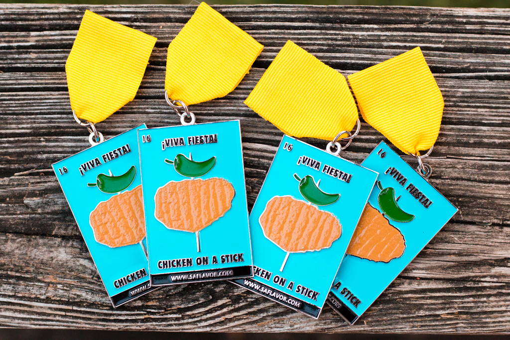 ¡Viva Fiesta! The 2016 SA Flavor Fiesta Medal