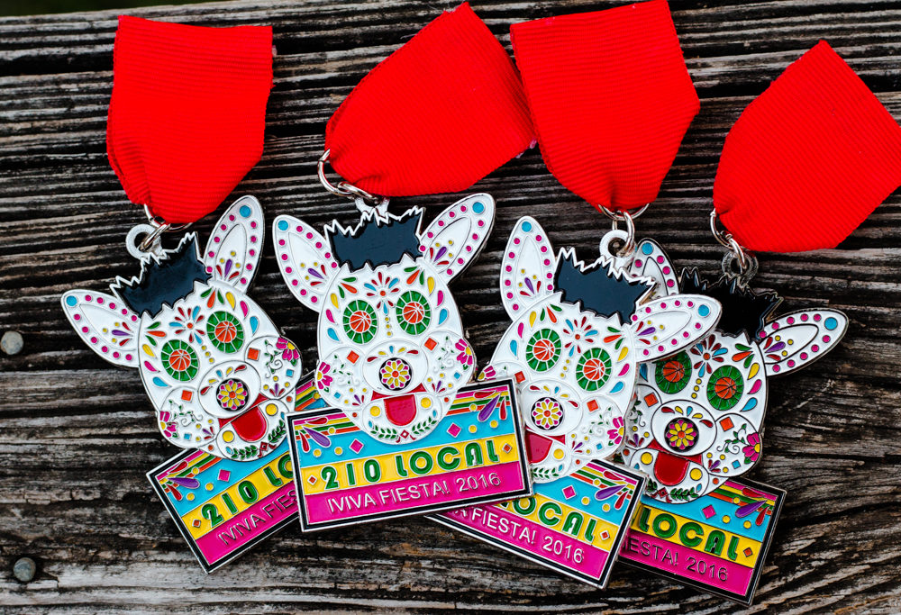 Hottest 2016 Fiesta Medal 210 Local's Coyote Back In Stock Soon