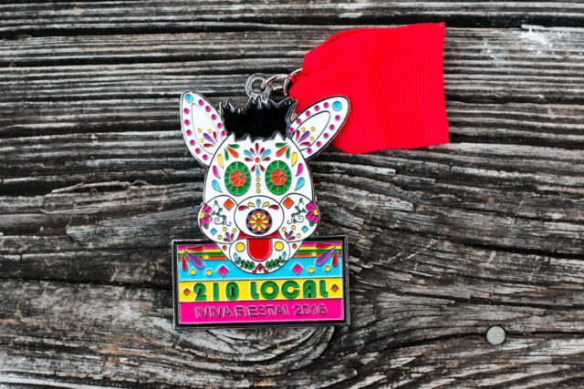 Dia de los Muertos Coyote 2016 Fiesta Medal 210 Local-2