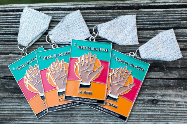 Get our La Mano Fiesta Medal in the SA Flavor store.