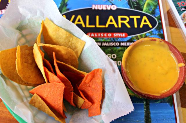 Taqueria Nuevo Vallarta Chips and Queso