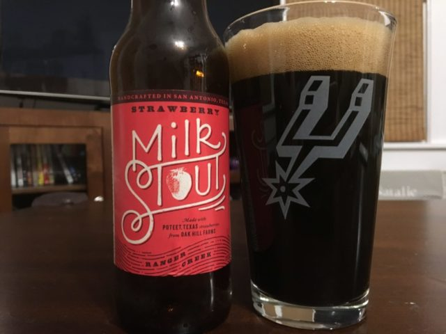 Ranger Creek Strawberry Milk Stout-2