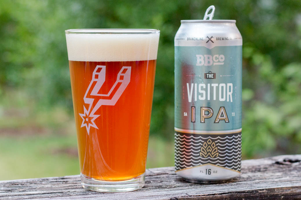 Branchline Brewing's The Visitor: San Antonio Beers
