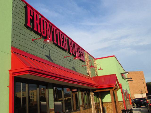 Frontier Burger Exterior