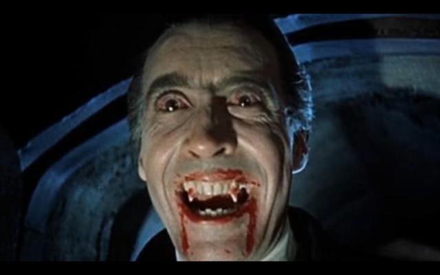 Dracula (1958) via Public Domain.