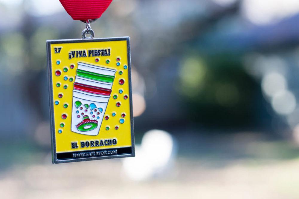 2017 SA Flavor Fiesta Medal El Borracho