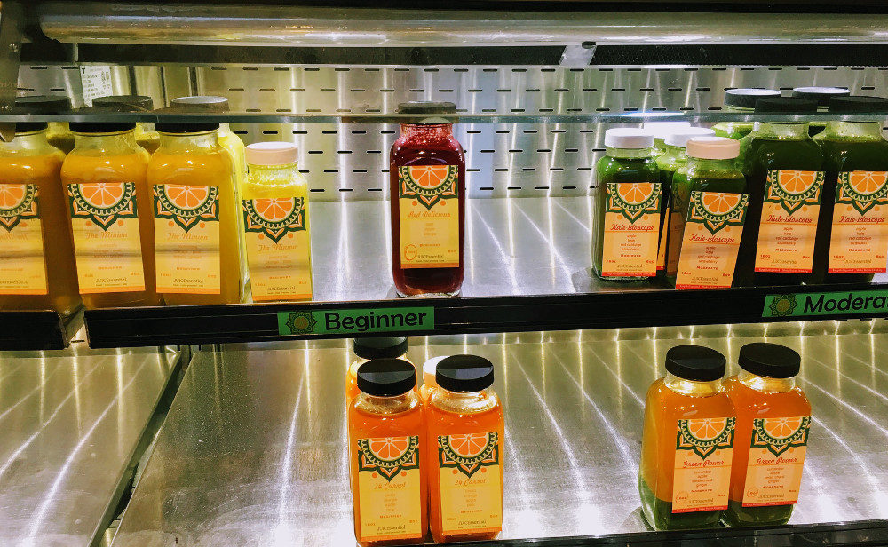 Get Juiced Up for 2017 at JUICEssential Juice Bar