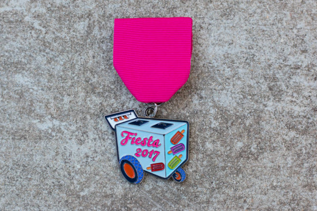 Paleta Carta Amanda Infante SA Flavor Fiesta Medals 2017-2