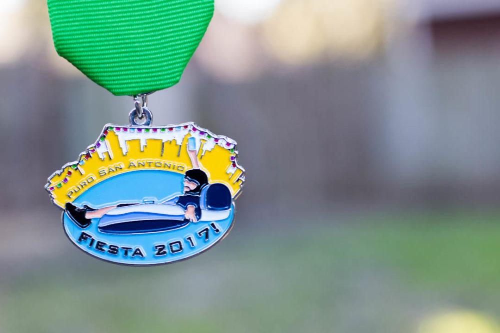 Remember the Memorial Day Flood—Puro San Antonio's 2017 Fiesta Medal