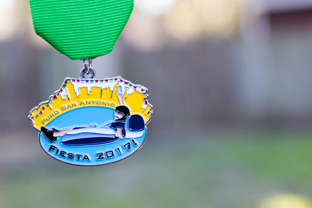 Remember the Memorial Day Flood—Puro San Antonio's 2017 Fiesta Medal