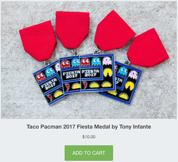 Taco Pacman Add To Cart