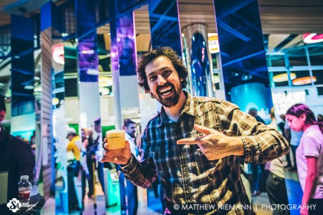 Garrett Having a Blast San Antonio Cocktail Conference Opening Party 2017