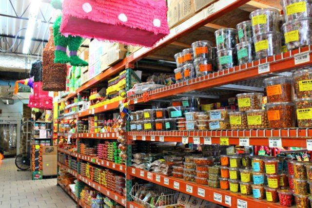 Candy Aisle Alamo Candy Co