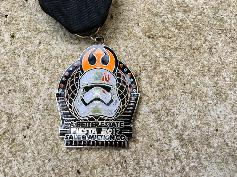 A Better Estate Sale Star Wars Force Awakens Fiesta Medal 2017