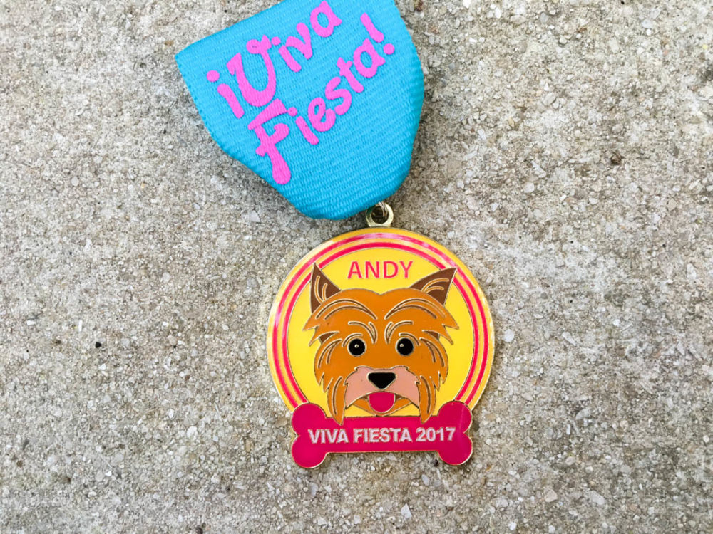 Andy Duke of Chew Toy Fiesta Medal 2017