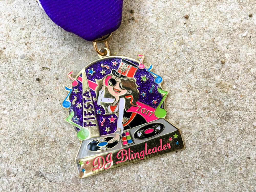 DJ Blingleader Fiesta Medal 2017