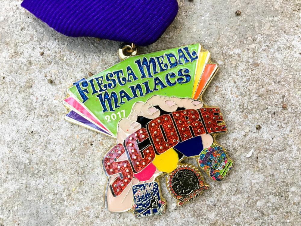 Fiesta Medal Maniacs 2017 Fiesta Medal