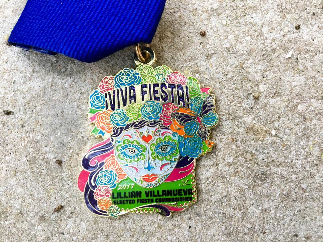 Lillian Villanueva Fiesta Medal 2017