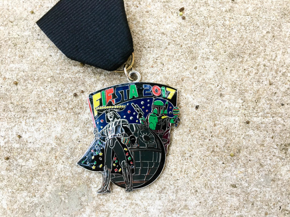 Greg Adams Boba Fett and Darth Vader Fiesta Medal 2017