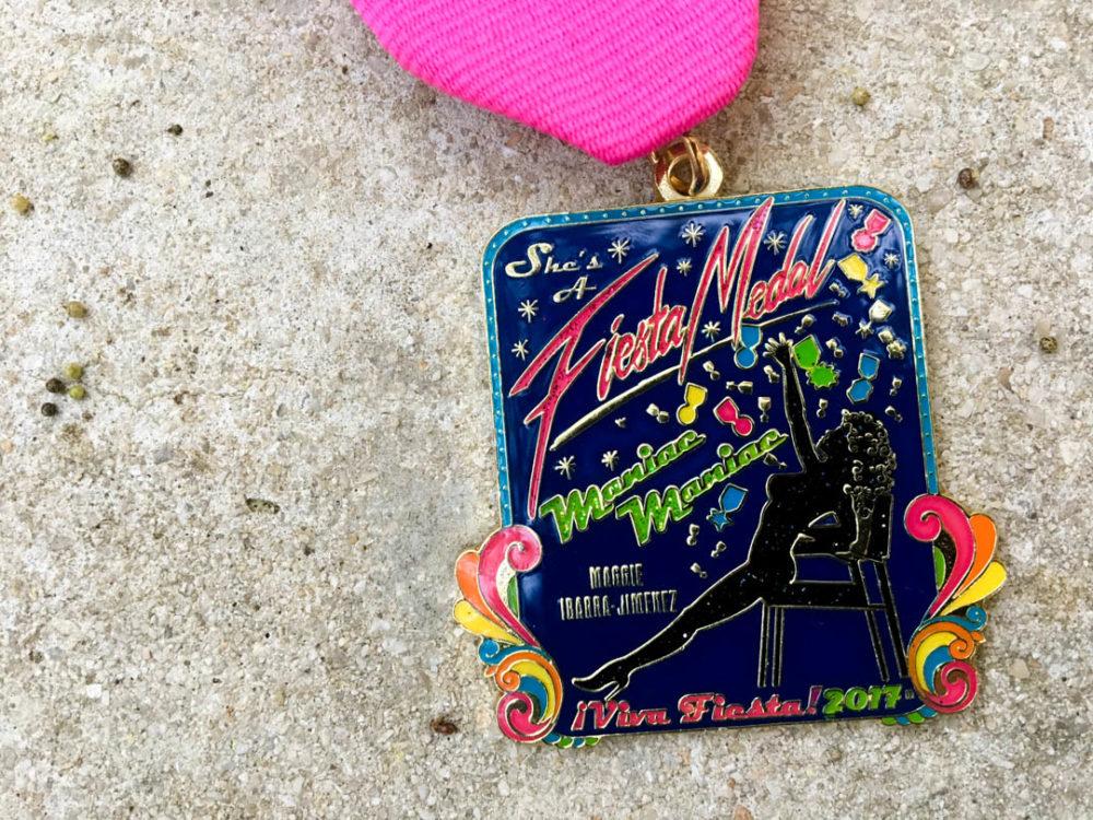 Maggie Ibarra-Jimenez Fiesta Medal 2017
