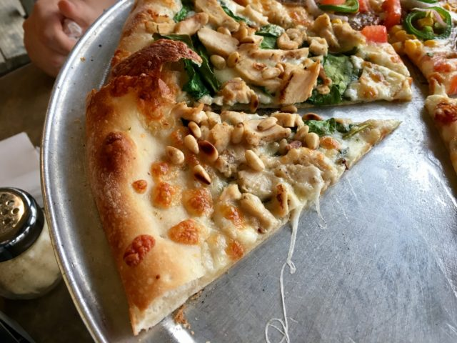 Nutty chicken Fralo's Pizza