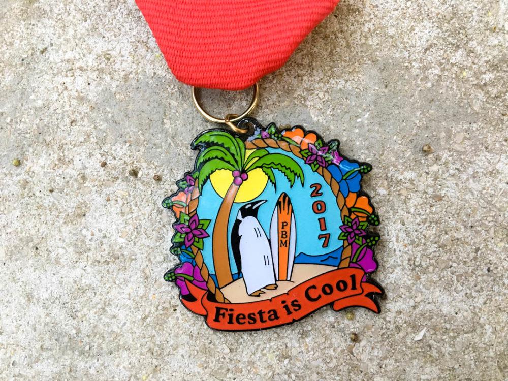 Preston Mewhinney Memorial Fiesta Medal 2017