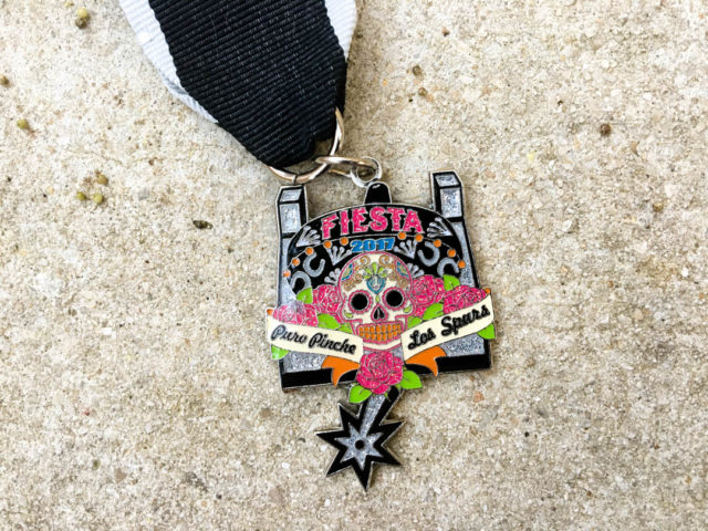 Puro Pinche Spurs Fiesta Medal 2017