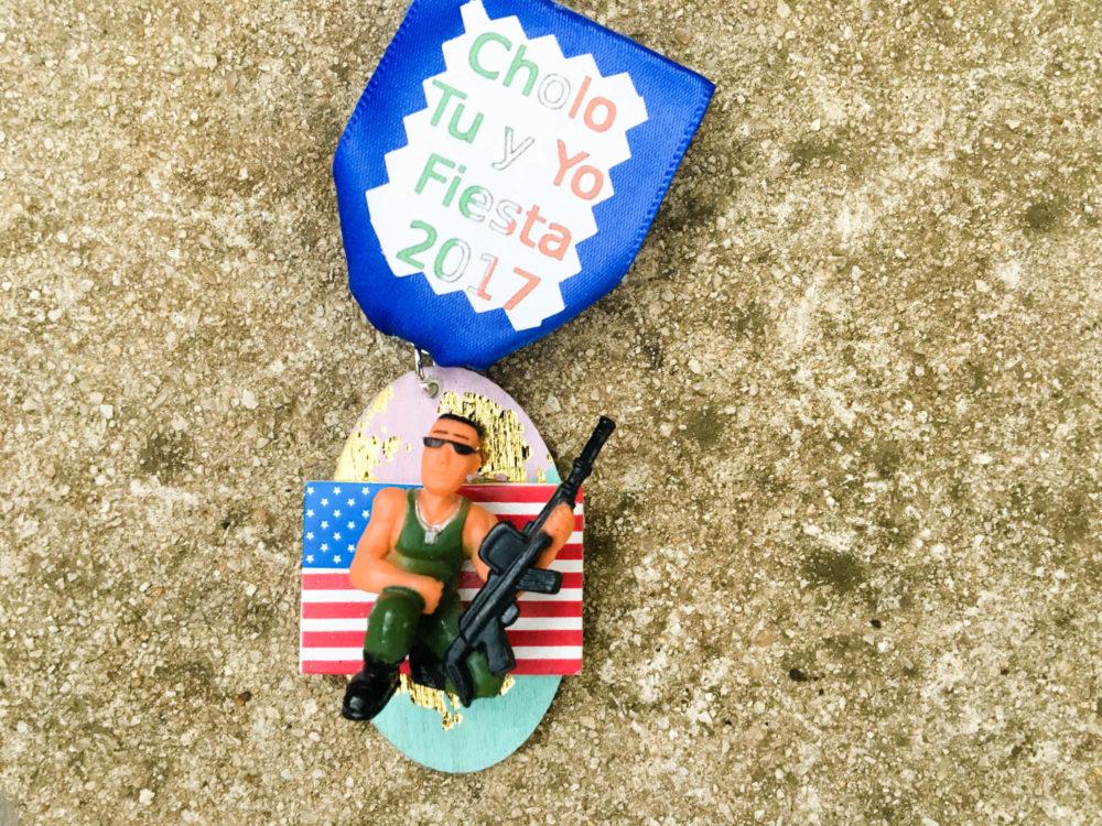 Cholo Tu y Yo Fiesta Medal 2017