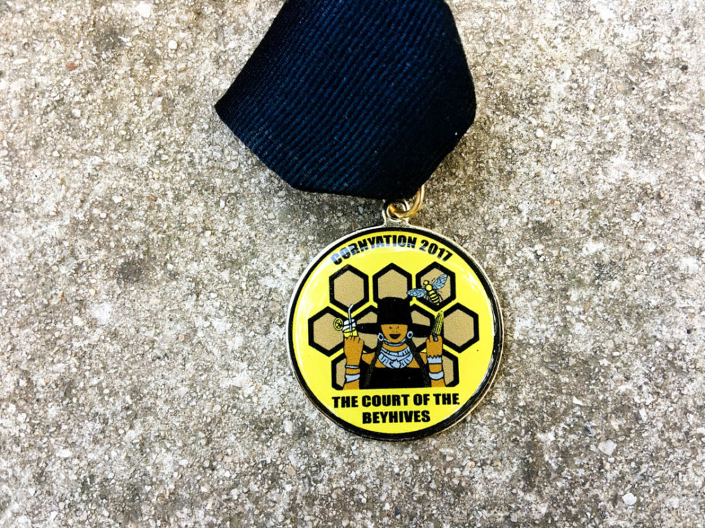 Court of the Beyhives Fiesta Medal 2017