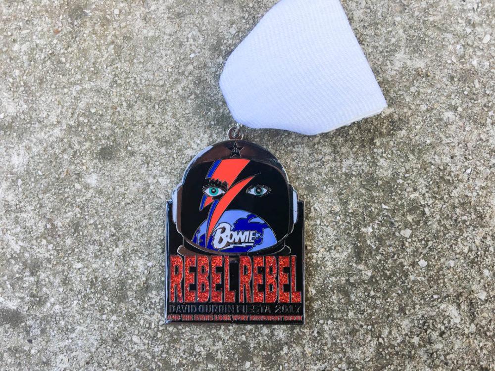 David Durban David Bowie Fiesta Medal 2017