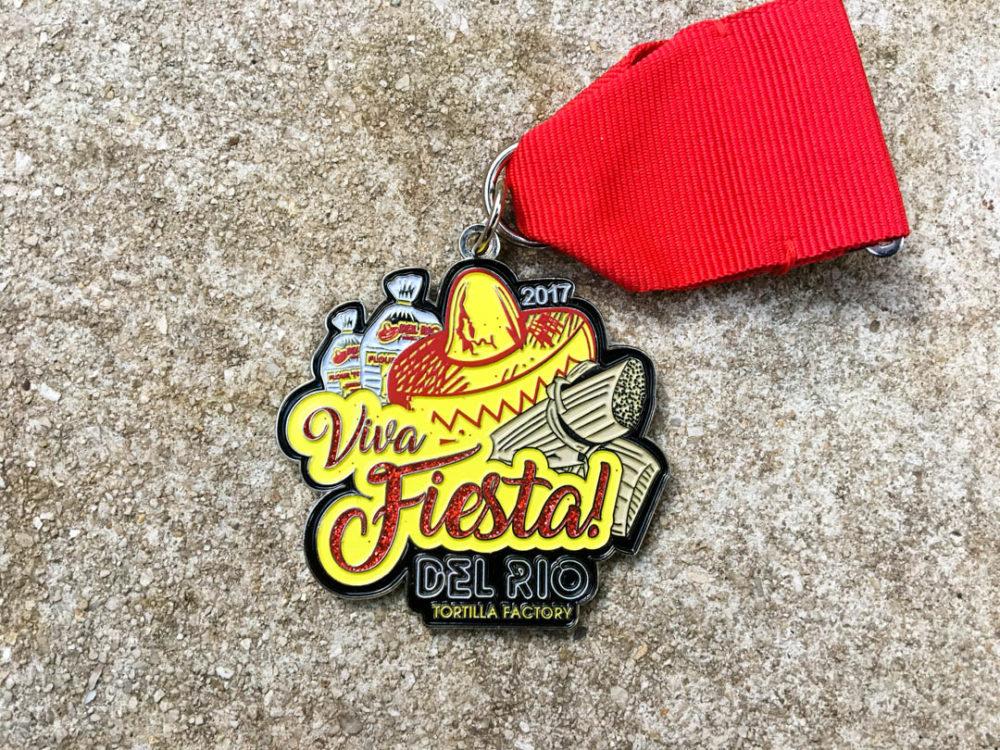 Del Rio Tortilla Factory Fiesta Medal 2017