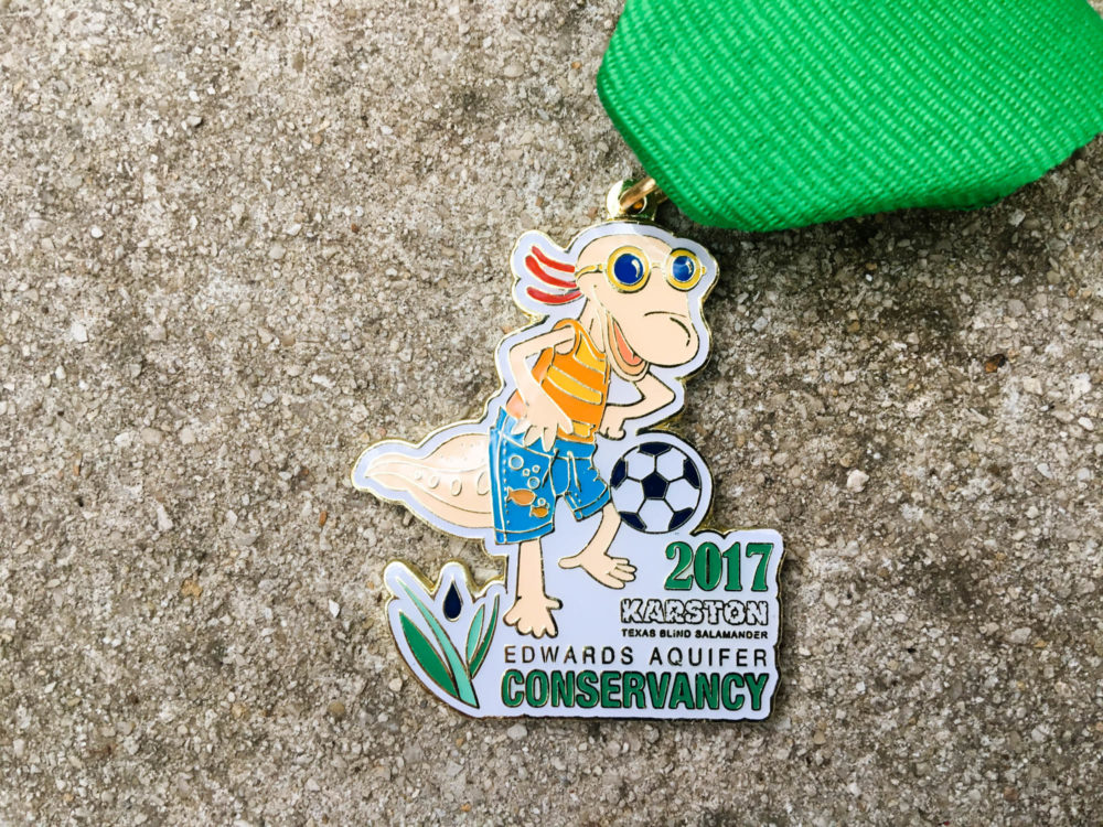 Edwards Aquifer Conservancy Fiesta Medal 2017