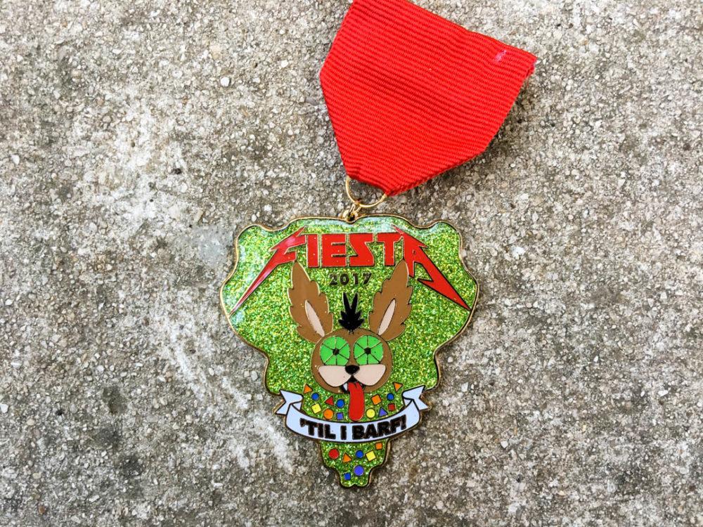 Fiesta 'Til I Barf Fiesta Medal 2017