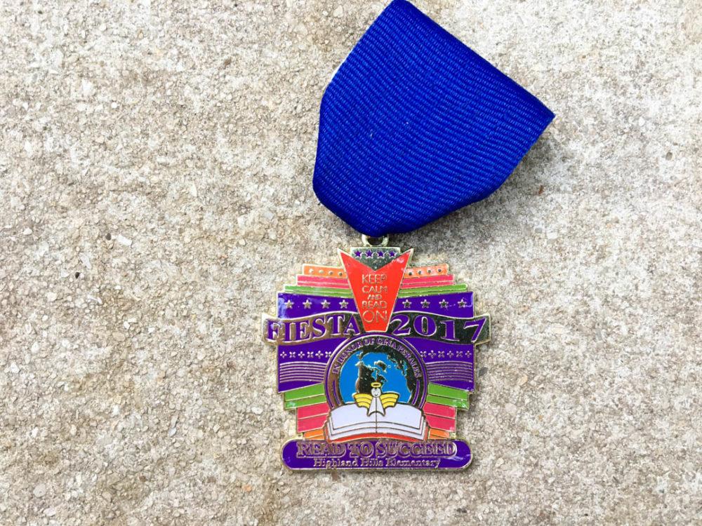Gina Perales Reading Memorial Fiesta Medal 2017